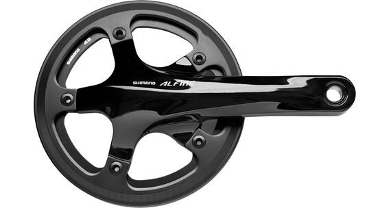 Shimano Alfine FC-S501 Guarnitura 42T con copricatena esterno nero